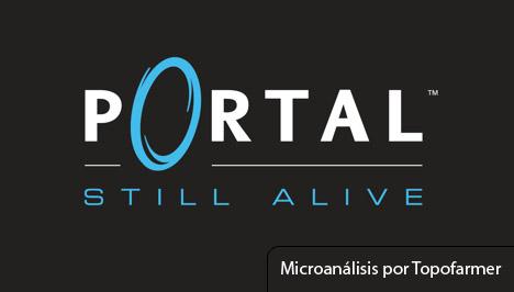 Microanálisis Portal: Still alive