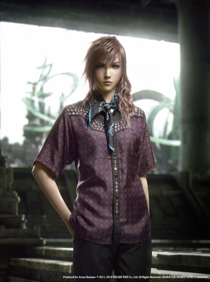 Wtf ahora los personajes de final fantasy xiii 2 presentan ropa