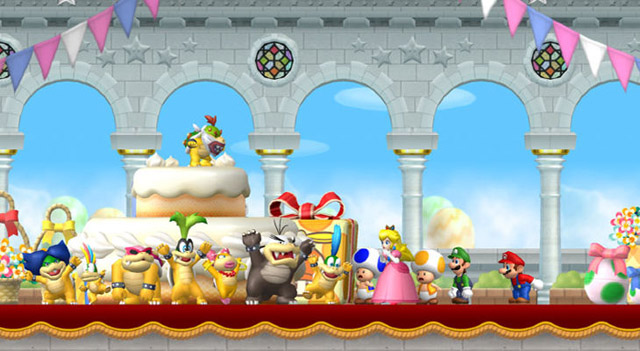 New Super Mario Bros 2 llegar