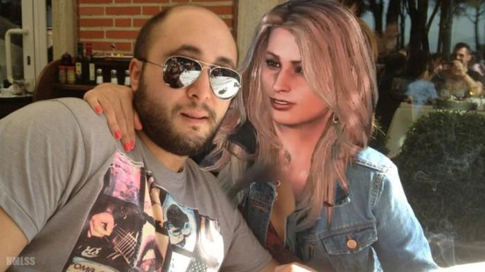 Max y Fabiana, la mujer secuestrada de su jefe.
