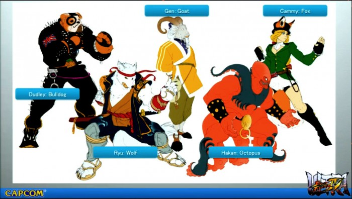 ultra street fighter iv animales