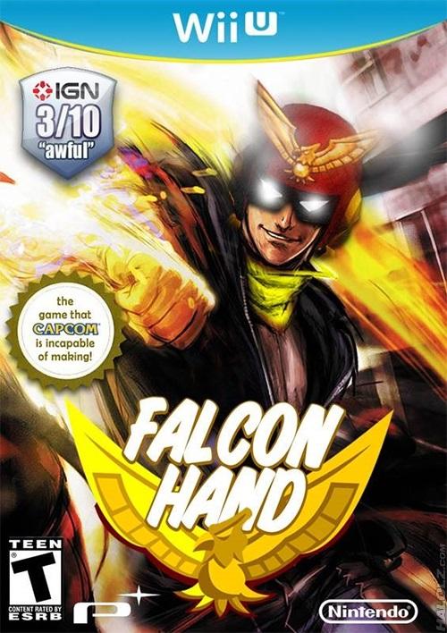falcon hand