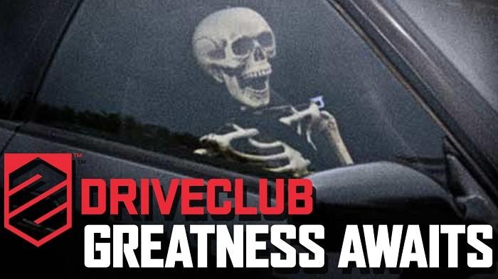 driveclub skeleton waiting