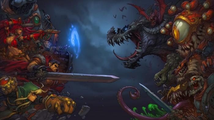 Battle Chasers Nightwar wallpaper