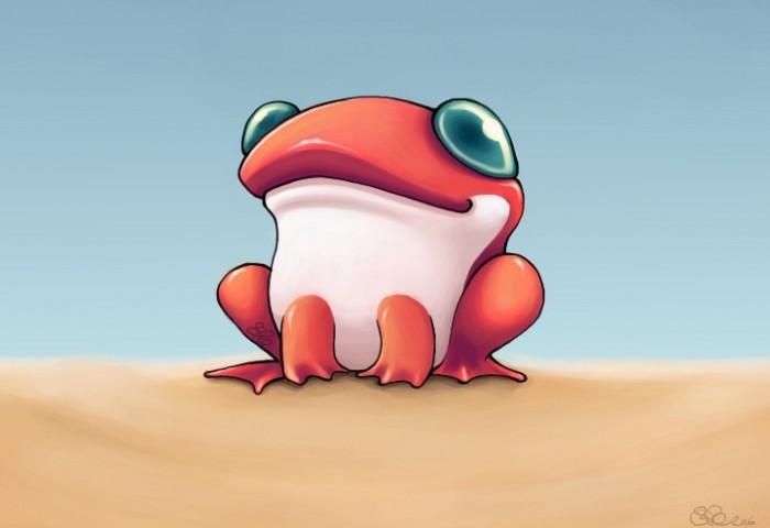 RANA frog____by_capsicum
