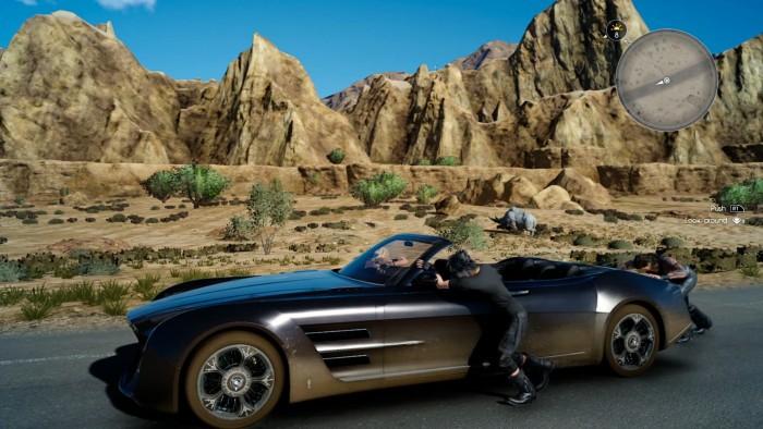 Final Fantasy XV coche