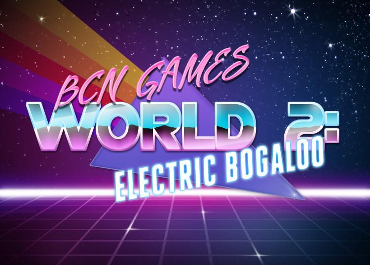 BCN Games World 2017 logo